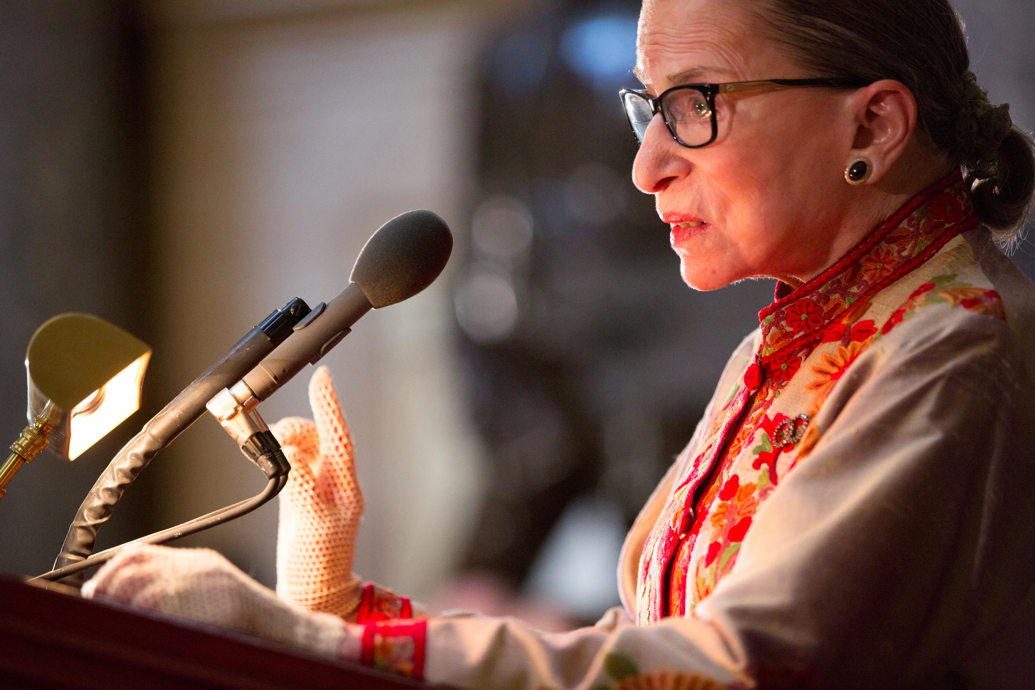RBG on Capitol Hill.