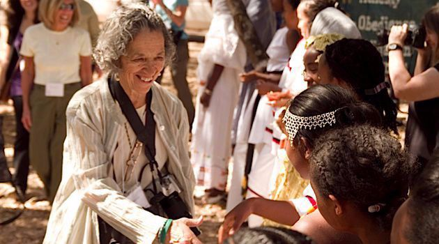 In the Field: American Jewish World Service chief Ruth Messinger traveled to Ethiopia in 2011.