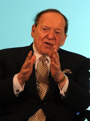Power Player: Sheldon Adelson
