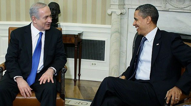 All Smiles: Benjamin Netanyahu and Barack Obama, shown here during a meeting last spring, are both facing tricky domestic political and diplomatic situations.