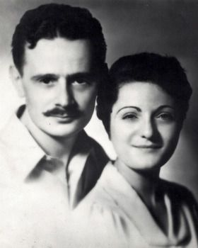 Lost Writer: Billie Holiday made ?Strange Fruit? famous, but Abel Meeropol, shown with his wife, Anne, wrote the words.