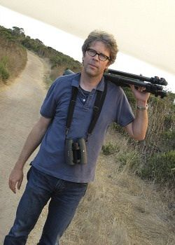 In The Weeds: As well as being a writer, Jonathan Franzen is a bird-watcher.