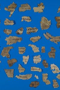 Pieces of History: Fragments of Jewish documents from the Cairo genizah.