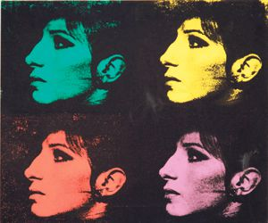 Color Me Barbra: Streisand was the subject of artist Deborah Kass?s ?Jewish Jackie? series.