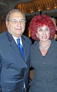 Abraham Foxman and Tami Raveh