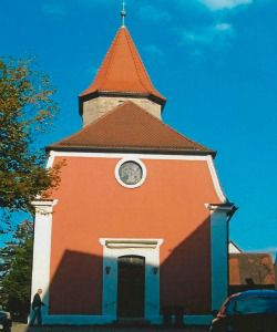 The church in Bechhofen.