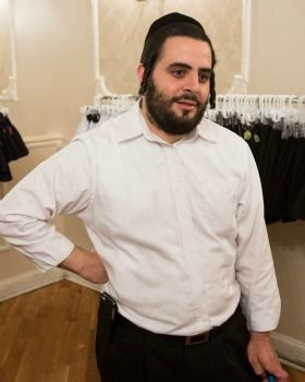 Microfinancing helped Joel Blum and his wife, Yides Blum, get her clothing business off the ground.
