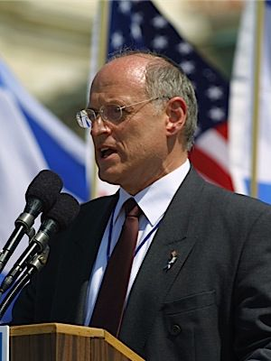 Chief: Malcolm Hoenlein, executive vice president of the Conference of Presidents of Major American Jewish Organizations.