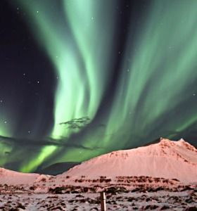The aurora borealis lights up Iceland?s sky on Rosh Hashanah.