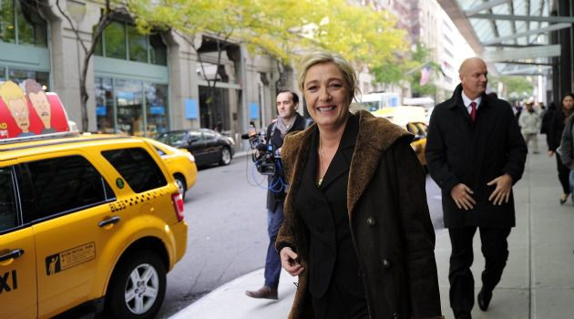 Madame No Name: Marine Le Pen, leader of the far-right National Front party hasn?t received much attention on her trip to the U.S.