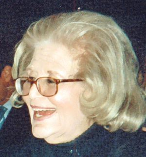 ?Tireless Force?: Sally Goodgold was a civic advocate.