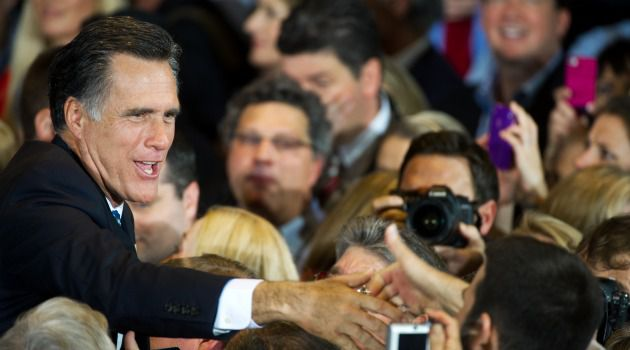 Lemons Into Lemonade: Sounding confident, Mitt Romney said the competitive Republican race would only make the eventual nominee stronger for the November election.
