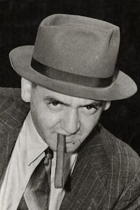 Weegee self-portrait, 1940.