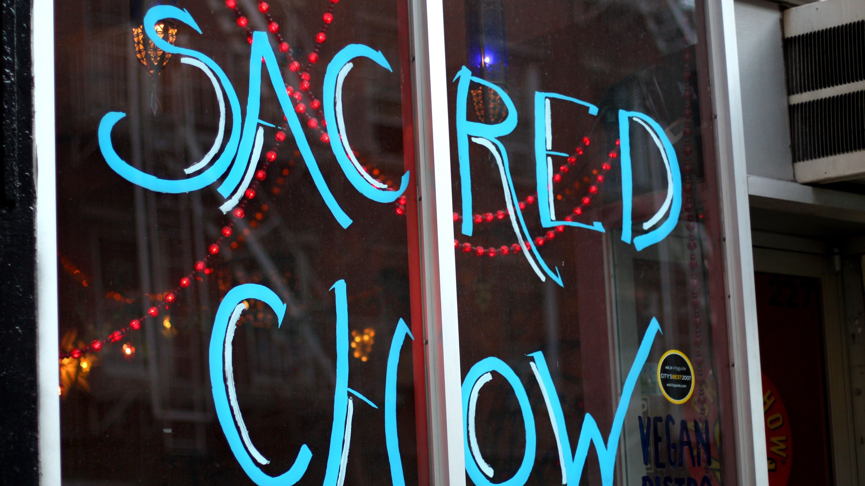 Controversial rabbi makes vegan restaurants kosher the forward the name of the vegan restaurant sacred chow is hand painted on its glass storefront biocorpaavc