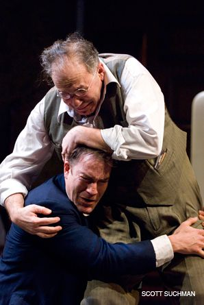 THE DRAMA: Rick Foucheux and Jeremy S. Horn in Arena Stage's 'Death of a Salesman.'