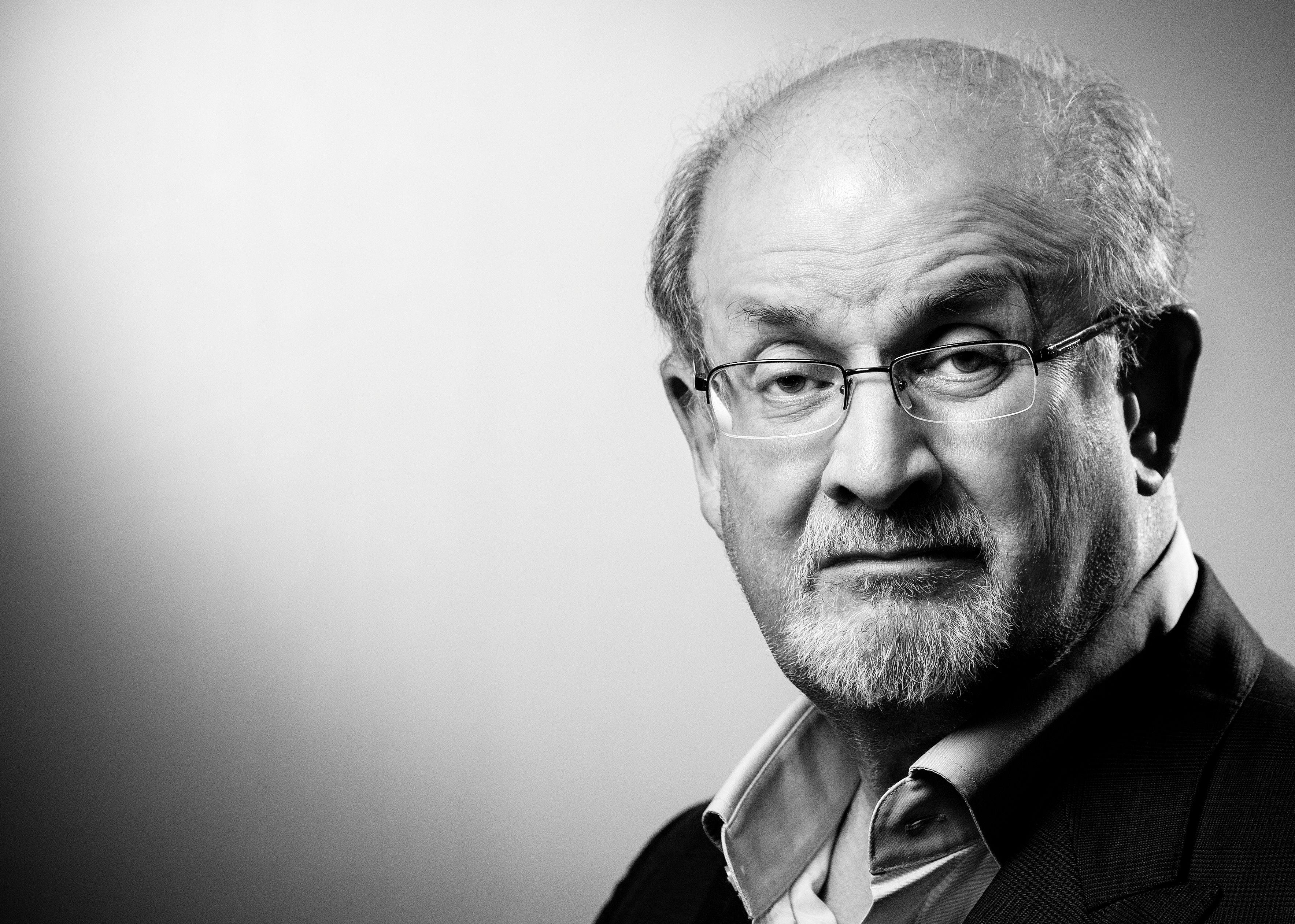 Výsledek obrázku pro Salman Rushdie