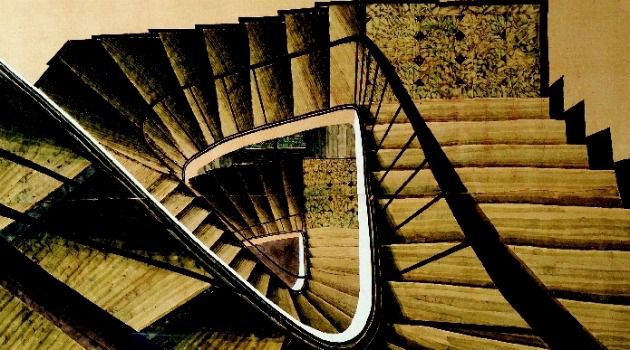 A Feeling of Vertigo: Stairways are prominently featured in the work of the French Jewish artist Sam Szafran.