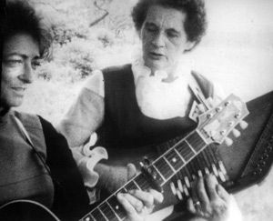 How Does the Song Go?: Sara and Maybelle Carter in a 1981 film by John Cohen.