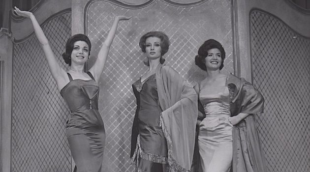 Put Your Hands Up For Broadway: Leida Snow (left) in 'I Can Get It For You Wholesale,' which toured several American cities beginning in December 1962.