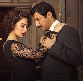 Co-stars Iyad Nassar and Menna Shalabi.