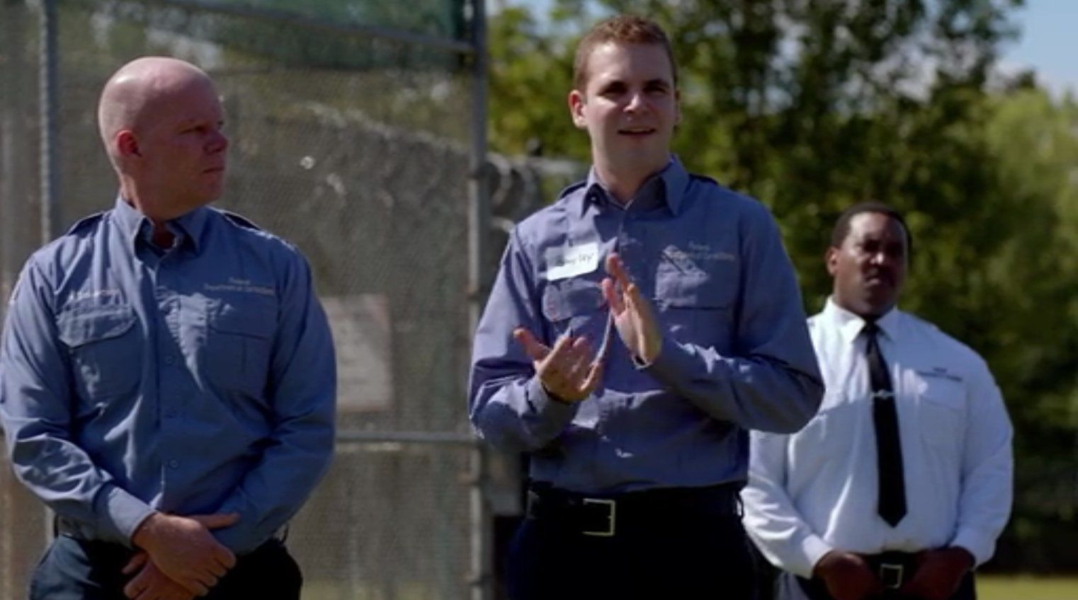 """Alan Aisenberg in a scene from """"Orange is the New Black."""""""