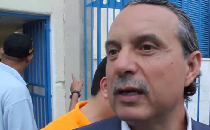 Lotfi Abdennadher, head of the main soccer club in the city of Sfax, Tunisia.