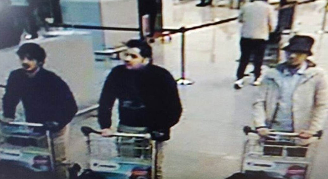 Three suspects in Brussels Bombings