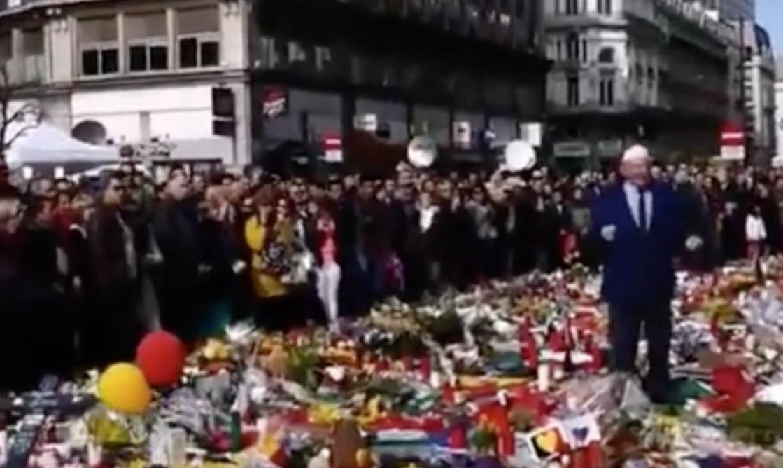Belgium man booed for anti-Semitism.