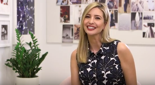 "Ivanka Trump announces the release of her book, ""Women Who Work: Rewriting the Rules for Success."""