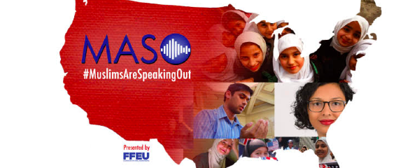 Muslims Are Speaking Out campaign by the Foundation for Ethnic Understanding