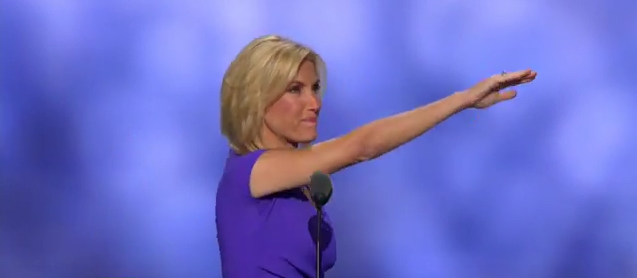 Laura Ingraham at the Republican National Convention on July 20, 2016