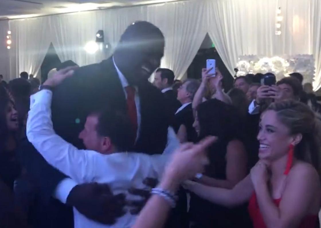 WATCH Shaq Totally Nails The Hora At A Jewish Wedding Forward