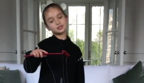 NewsWATCH Ivanka's Adorable Daughter Sings Chinese New Year Song Goes Viral Lilly Maier