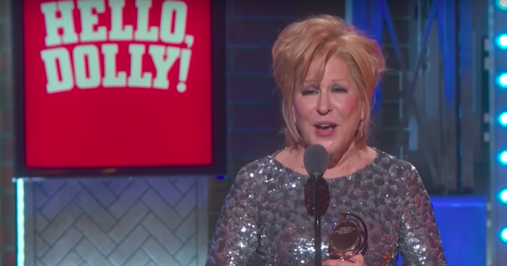 Amazing!: Bette Midler's Tony Awards Speech Was Literally Everything