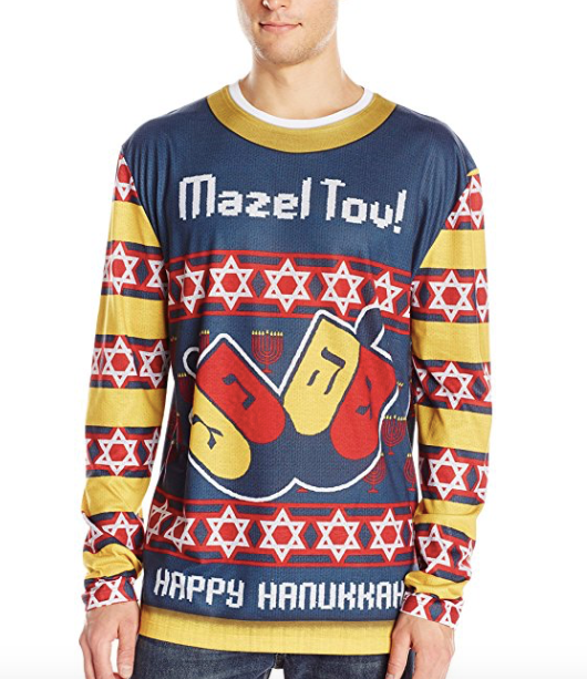 8 Ugly Hanukkah Sweaters That Will Light Up The Holiday The Forward
