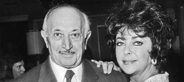 Another Narrow Escape : Elizabeth Taylor (pictured here in 1982) wrote to Wiesenthal that ?I love you and we all need you.?
