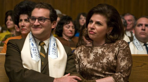Henpecked?: In ?A Serious Man,? Larry Gopnick (Michael Stuhlberg) feels put-upon by his wife Judith (Sarah Lennick).