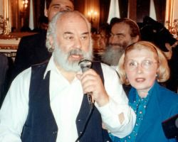 Shlomo Carlebach and Masha Leon