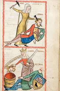 """""""Speculum Humanae Salvationis"""" by Anonymous, circa 1360"""