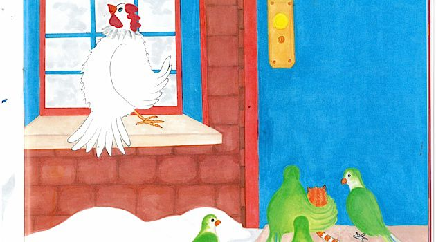 Chicken Run: Daniel and Jill Pinkwater's new picture book features a chicken named Yetta who escapes a Brooklyn slaughterhouse.