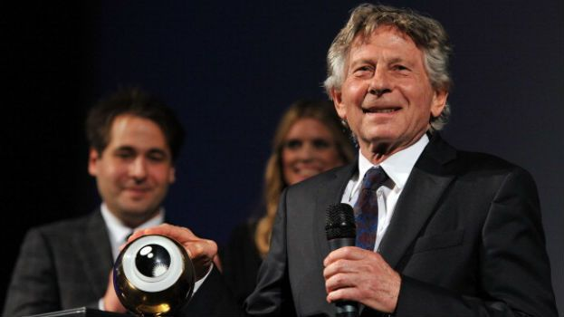 Man of the Hour: Filmmaker Roman Polanski accepts a lifetime achievement award at the 2011 Zurich Film Festival in Switzerland.