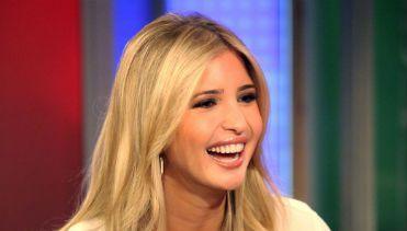Not Your Usual Talking Head: Ivanka Trump shmoozes on ?FOX & Friends? at FOX Studios in New York.