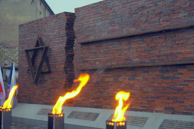 The newly unveiled monument to the 40,000 Jews sent to the Treblinka death camp (Courtesy of Krzysztof Galica).