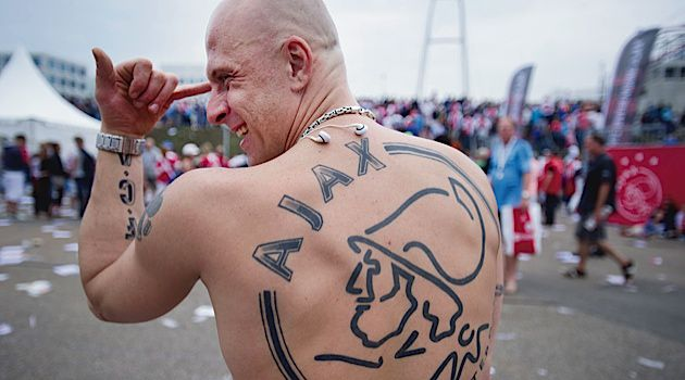 Stronger Than Dirt: Fans of the Dutch team Ajax refer to themselves as Jews and wave Stars of David at soccer matches.