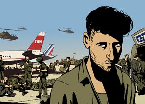 PERSONAL STORY: Ari Folman?s ?Waltz With Bashir? was well received at the Cannes Film Festival.