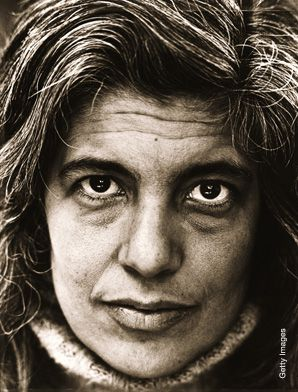 Sontag: The famed writer died in December 2004 after a battle with myelodysplastic syndrome, or MDS.