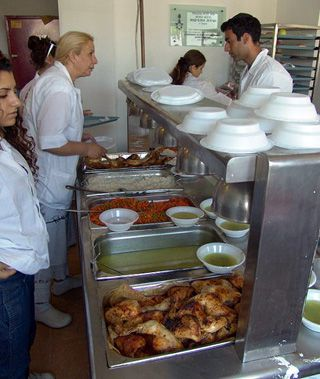 Needy: Meir Panim soup kitchens in Israel have estimated that demand has jumped by 15% a year since 2007.