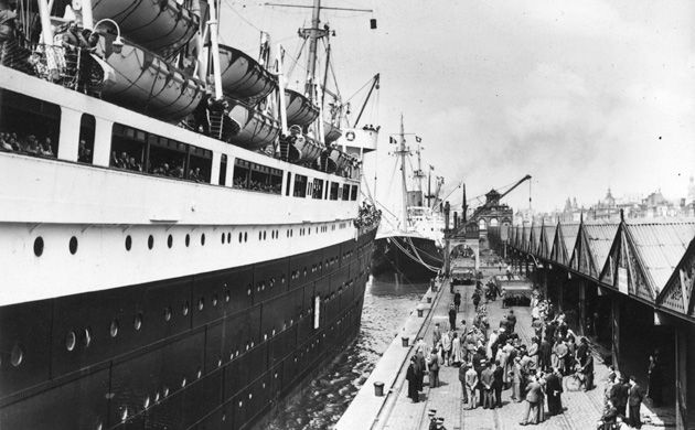 Returned: The S.S. St. Louis ended up back in Europe with its cargo of German-Jewish refugees after a number of countries, including the United States, refused to allow the ship to dock.