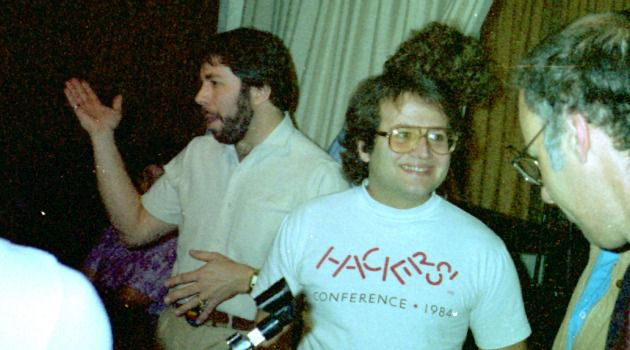 Jewish at Its Core: Andy Herzfeld (right), seen here with Steve Wozniak in 1985, has been called ?the soul of Apple.?