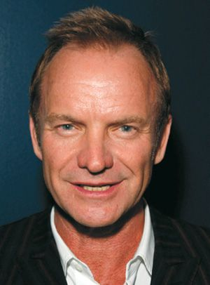 ?Englishman in New York?: Sting recently performed a multimedia concert at the Metropolitan Opera.